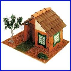 Modellismo casa kid 3 mm.120x130x130 fino ad esaurimento