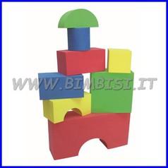 Blocchi morbidi per costruzioni - set pz.30