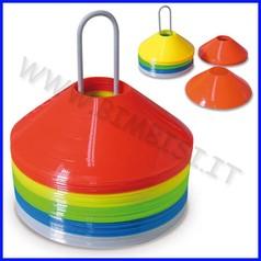 Cono a disco - set 50 pezzi assortiti 5 colori