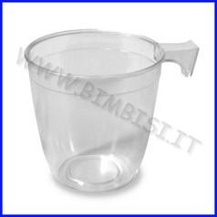 Tazzina caffe' conf. 50 pz. trasparente