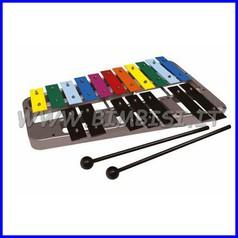 Strumenti musicali Metallofono 18 toni + 2 battenti