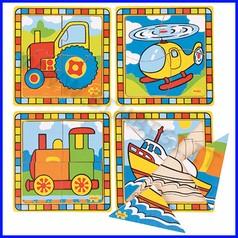 Puzzle i miei primi veicoli