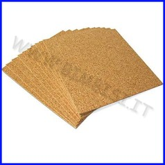 Sughero spessore mm. 4 - cm. 30x30