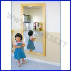 Specchio quadrettato cm.79x164