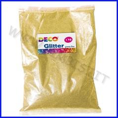 Glitter grana fine busta kg.1 oro