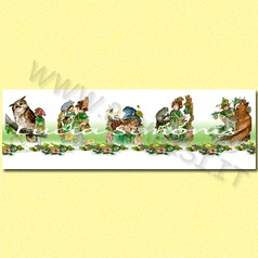 Striscione linea fantasy cartalucida 100x30h cm