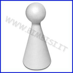 Forme di polistirolo birillo 15 cm