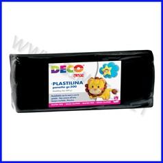 Plastilina - panetto gr.500 - nero