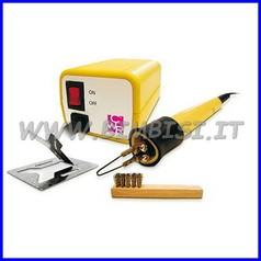 Pirografo temperatura fissa con accessori