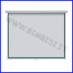 Schermo proiezione cm.122x165 da muro - manuale