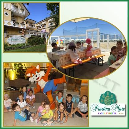 family hotel pinetina spiaggia