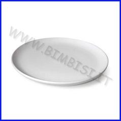 Ceramica biscotto piatto diam cm.18 con fori