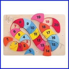 Puzzle il serpente dei numeri