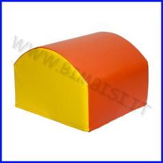 Morbidone elemento salita dosso 60 x 60 x 45/30