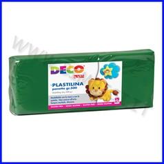 Plastilina - panetto gr.500 - verde