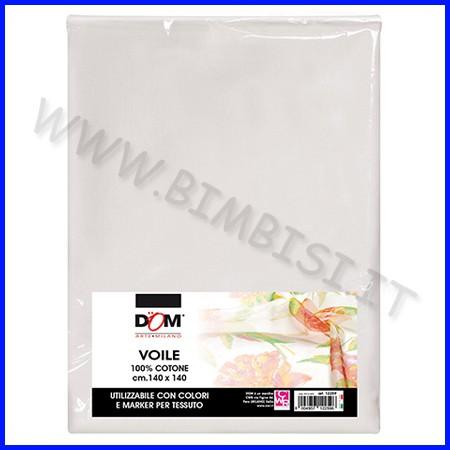 Tessuti pittura voile 100% cotone cm.140x140
