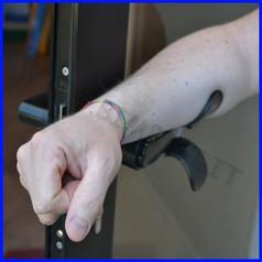 Maniglia mani libere anticovid