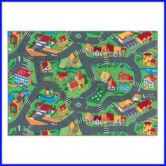 Tappeto gioco cm.140x200 - villaggio