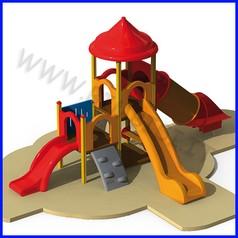 Oxi torre 2 scivoli 1 tunnel/rampa