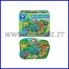 Puzzle gigante Dinosauri cm 58x40