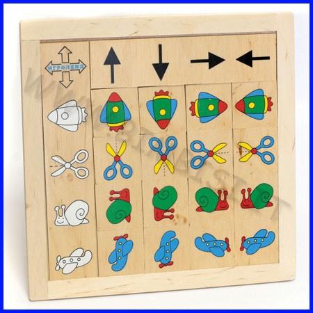 Domino destra/sinistra cm. 27x27