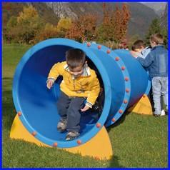 Tunnel gattonabile diritto in pe cm 195
