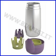 Portabiberon termico acciaio inox chicco linea step up family