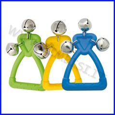 Strumenti musicali maniglie con campanel li set 3 pz fino ad esaurimento