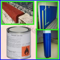 Collante per protezioni murali 850gr piesse cp/700 resa 1kg/2mq
