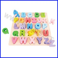 Puzzle 3d grande - alfabeto maiuscole