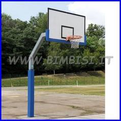 Protezione per palo da esterno blu cm sp.2 15+15+15+15 h200