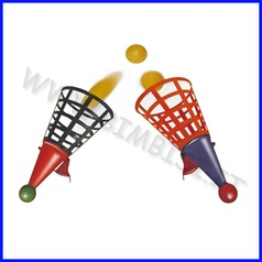 Mega basket set 2 pezzi