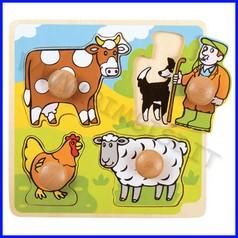 Puzzle pomelloni cm.20x20 - fattoria