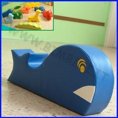 Morbidone balena 90x41x20h cm