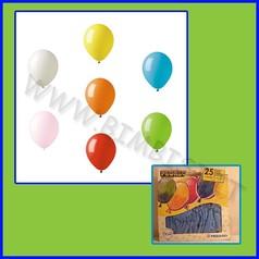Palloncini tondi cf 25 azzurro