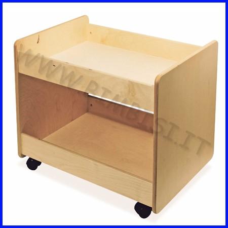 Carrello base cm.52x70x60 h