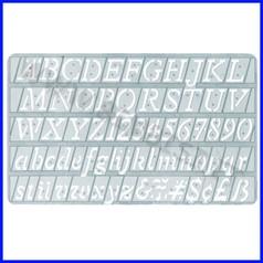 Normografo mm. 20 italic