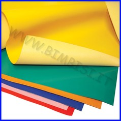 Eco pelle cm.50x70 - giallo