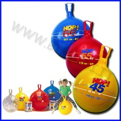 Pallone hop diam.45 cm giallo