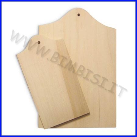 Supporti in legno: tagliere cm.30x20x1,5
