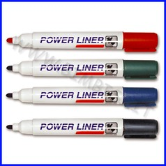 Marker cancellabile per lavagna busta 4 colori assortiti