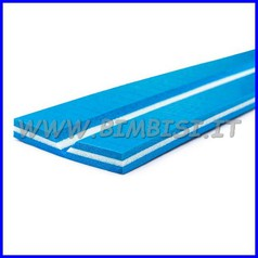 Paraspigolo in espanso cl1+film antigr. barra 200 cm 5+5 sp 1,5 blu