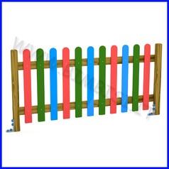Steccato inglese doghe multistrato piantone massello