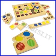 Domino legno texture