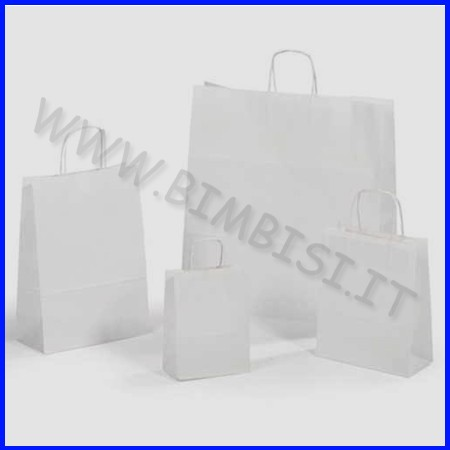Sacchetto bianco cm.16x8x21 - pz. 25