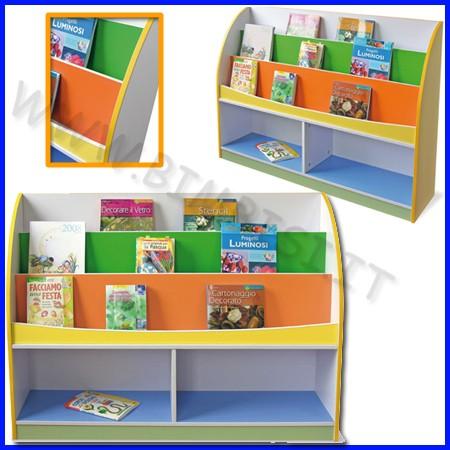 Libreria in legno cm.120x30x91,5 h