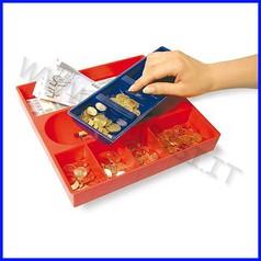 Portamonete e banconote cm.26x28x4