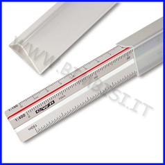 Scalimetro plex per meccanica cm. 30