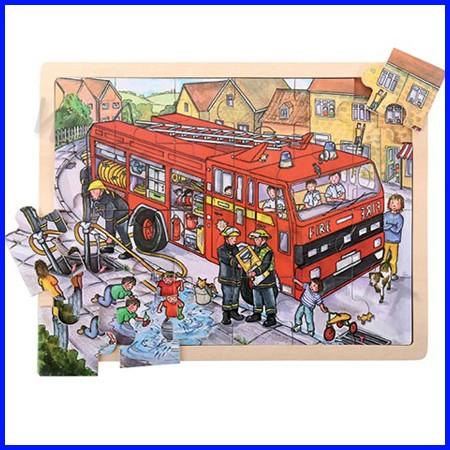 Puzzle gigante cm.43x33 - i pompieri