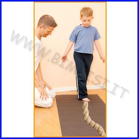 Corda per equilibrio diam. cm.6 x 2 mt